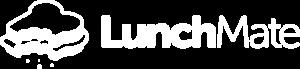 LunchMate Logo - white